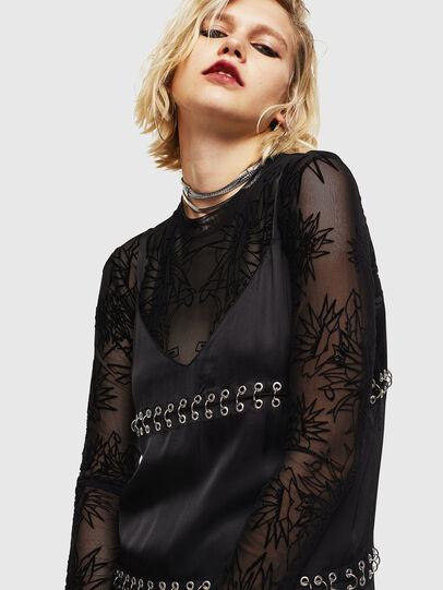 Diesel - D-NAKIA, Black - Dresses - Image 4