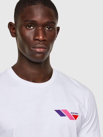 Diesel - T-DIEGOS-K11, White - T-Shirts - Image 3
