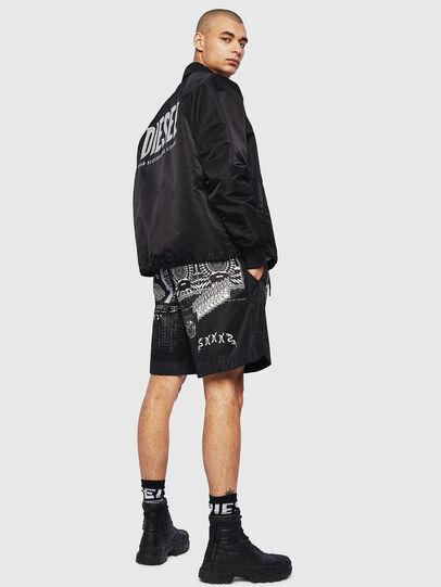 Diesel - P-KUMI-PRINT-A, Black - Shorts - Image 5