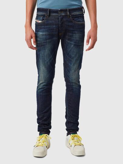 Diesel - Sleenker 09B07, Dark Blue - Jeans - Image 1