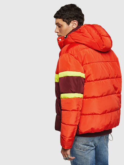 Diesel - W-MARTOS, Orange - Winter Jackets - Image 2