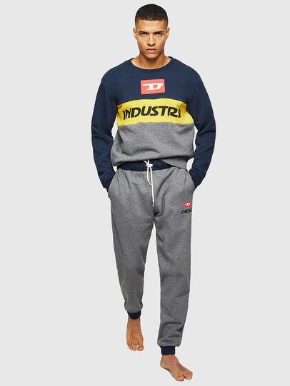 Diesel - UMLT-WILLY, Blue/Grey - Sweaters - Image 4