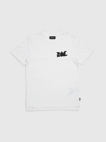 Diesel - TJUSTXMAS, White - T-shirts and Tops - Image 1