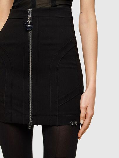 Diesel - O-STRIT, Black - Skirts - Image 3