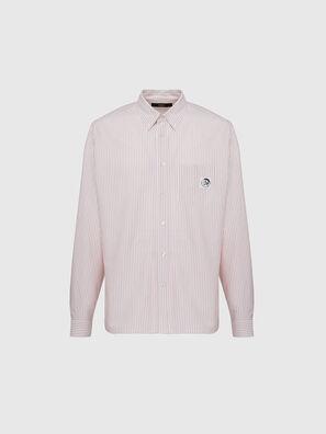 S-JAMES-A, Pink/White - Shirts