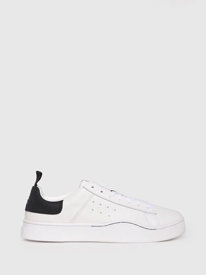 Diesel - S-CLEVER LOW, White/Black - Sneakers - Image 1