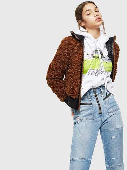 Diesel - L-TOSHA,  - Leather jackets - Image 4