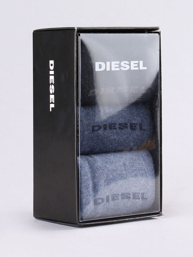 Diesel - SKM-RAY-THREEPACK, Blue/grey melange - Socks - Image 1