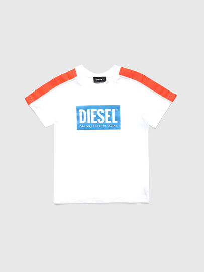 Diesel - TANGEB-R, White - T-shirts and Tops - Image 1