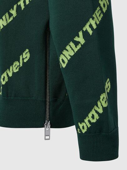 Diesel - K-DAVIS, Dark Green - Knitwear - Image 4