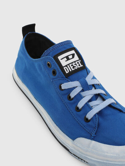 Diesel - S-ASTICO LOW CUT, Blue - Sneakers - Image 4