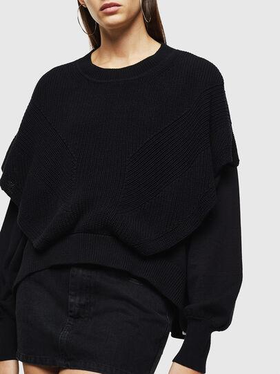 Diesel - M-NEXY, Black - Knitwear - Image 4