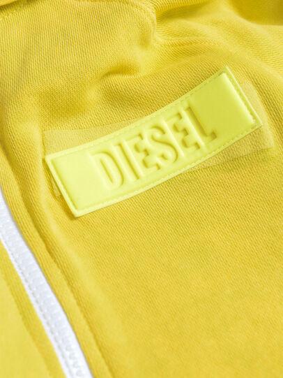 Diesel - SGIMHOODZIP, Yellow - Sweaters - Image 3