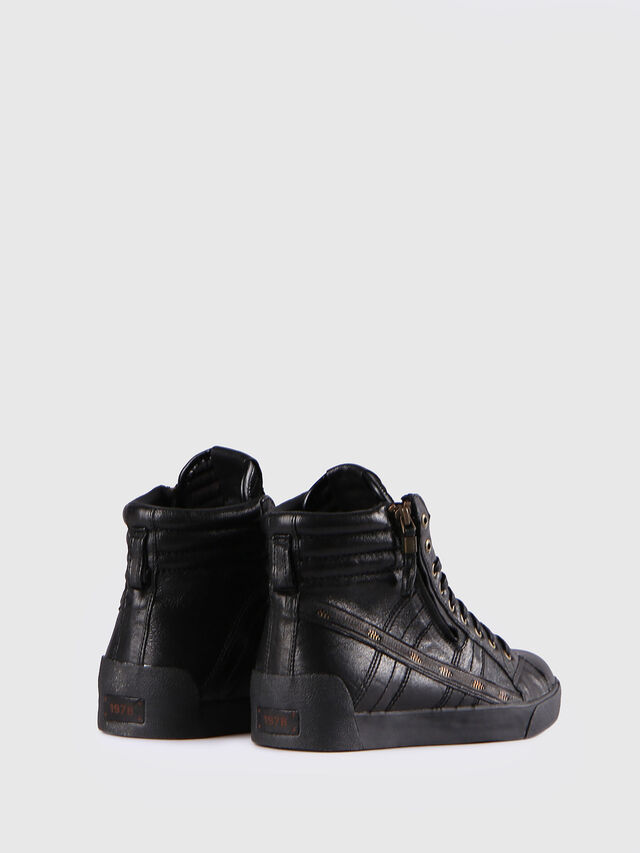 Diesel D-STRING PLUS, Black - Sneakers - Image 3