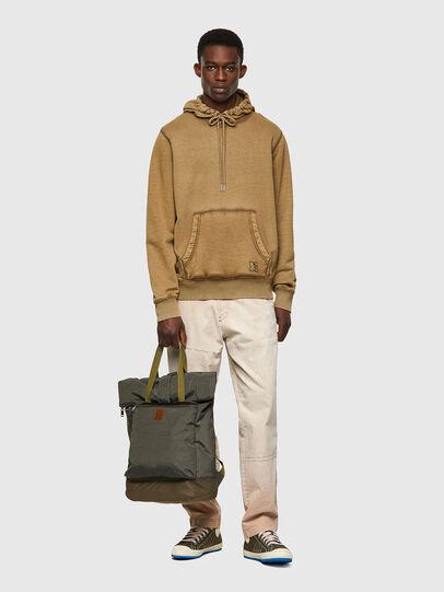 Diesel - S-GIRK-HOOD-MOHI-B1, Light Brown - Sweaters - Image 4