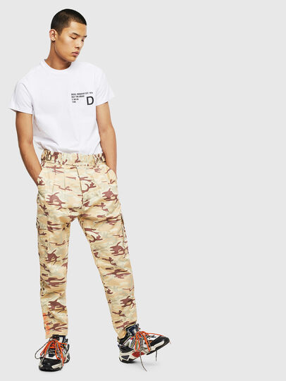Diesel - T-HOVER, White - T-Shirts - Image 5