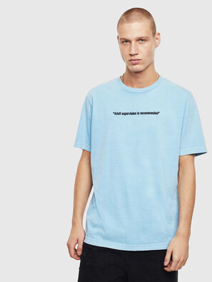 T-JUST-NEON, Azure - T-Shirts