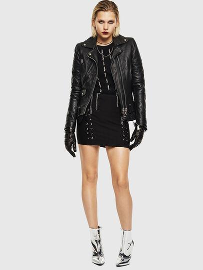 Diesel - O-FUJO, Black - Skirts - Image 6