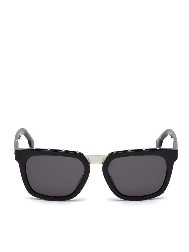 Diesel - DL0212, Black - Eyewear - Image 1