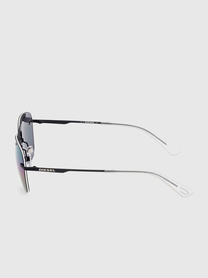 Diesel - DL0350, Black - Sunglasses - Image 3