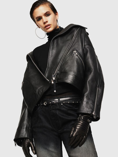 Diesel - LJESIV,  - Leather jackets - Image 1