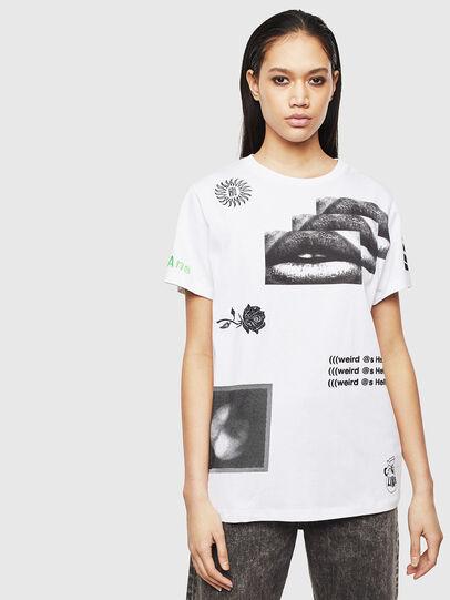 Diesel - T-DARIA-S1, White - T-Shirts - Image 1