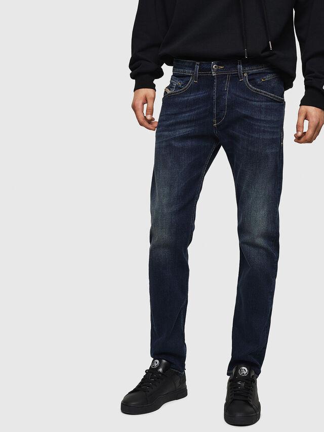 Diesel - Belther 0814W, Dark Blue - Jeans - Image 1