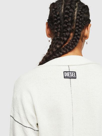 Diesel - M-CURRI, White - Knitwear - Image 5