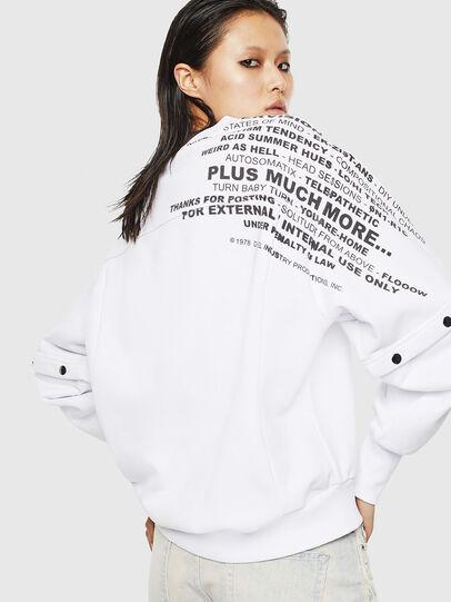 Diesel - F-AYALA, White - Sweaters - Image 2