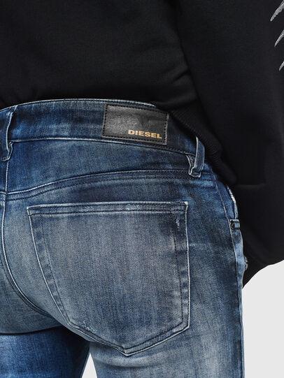 Diesel - Slandy Low 0095C, Medium blue - Jeans - Image 4