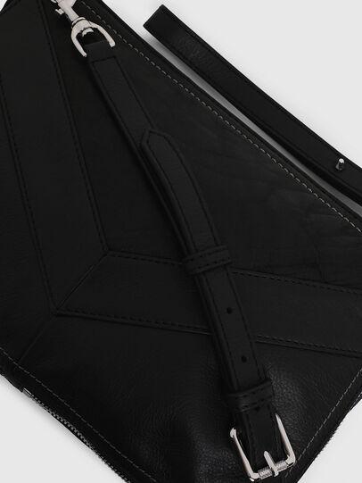 Diesel - LE-LITTSYY, Black Leather - Clutches - Image 5