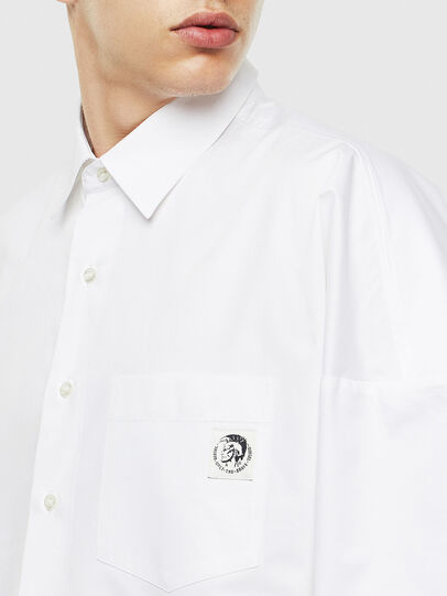 Diesel - S-LOOMY, White - Shirts - Image 3