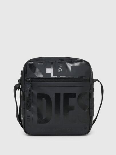 Diesel - X-BOLD DOUBLE CROSS, Black - Crossbody Bags - Image 1