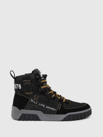 Diesel - S-RUA MID SP, Black - Sneakers - Image 1