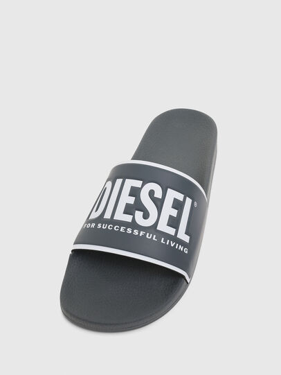 Diesel - SA-VALLA, Grey - Slippers - Image 5