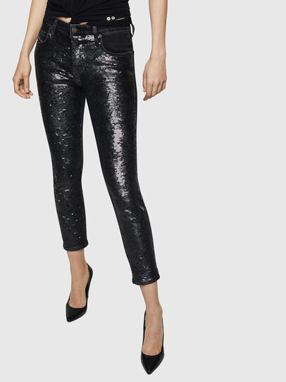 Diesel - Babhila 0093G, Black/Dark grey - Jeans - Image 1