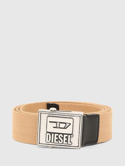 Diesel - B-METALTAPE, Yellow - Belts - Image 1