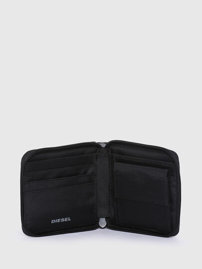 Diesel - ZIPPY HIRESH S II, Grey/Black - Zip-Round Wallets - Image 3