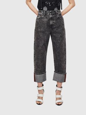 D-Reggy 0099F, Black/Dark grey - Jeans