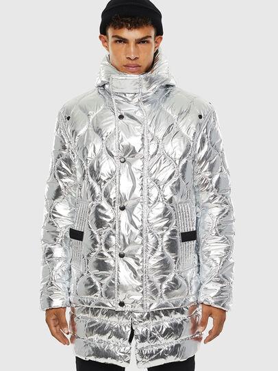 Diesel - W-CRAWFORD, Silver - Winter Jackets - Image 1