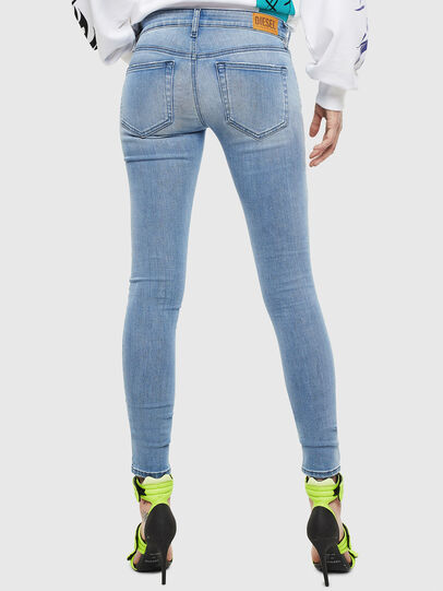 Diesel - Slandy Low 0096L, Light Blue - Jeans - Image 2
