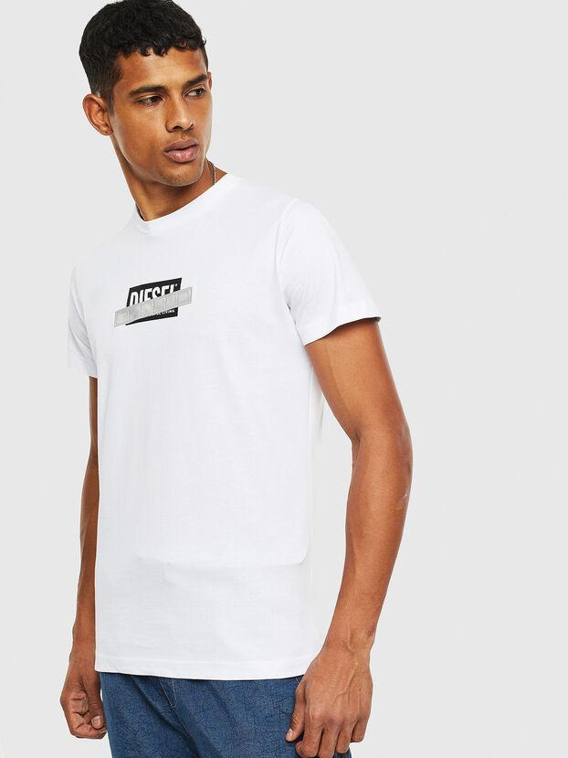 T-DIEGO-S7, White - T-Shirts