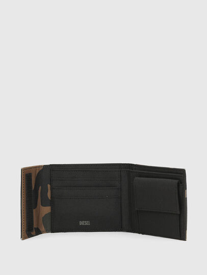 Diesel - HIRESH FD, Green Camouflage - Small Wallets - Image 3