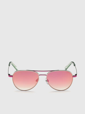 DL0291, Pink/White - Kid Eyewear