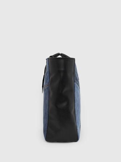 Diesel - LEENA, Blue - Shopping and Shoulder Bags - Image 3