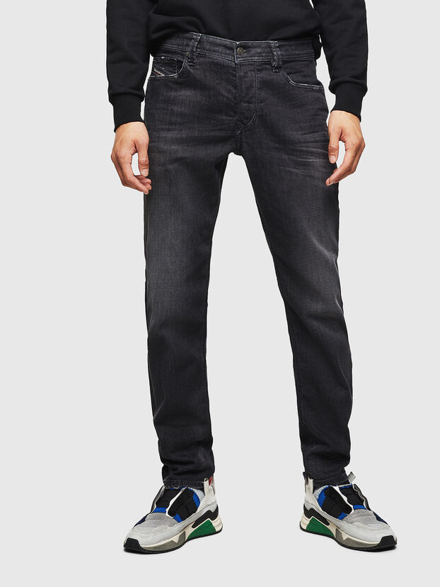 Larkee-Beex 082AS, Black/Dark grey - Jeans