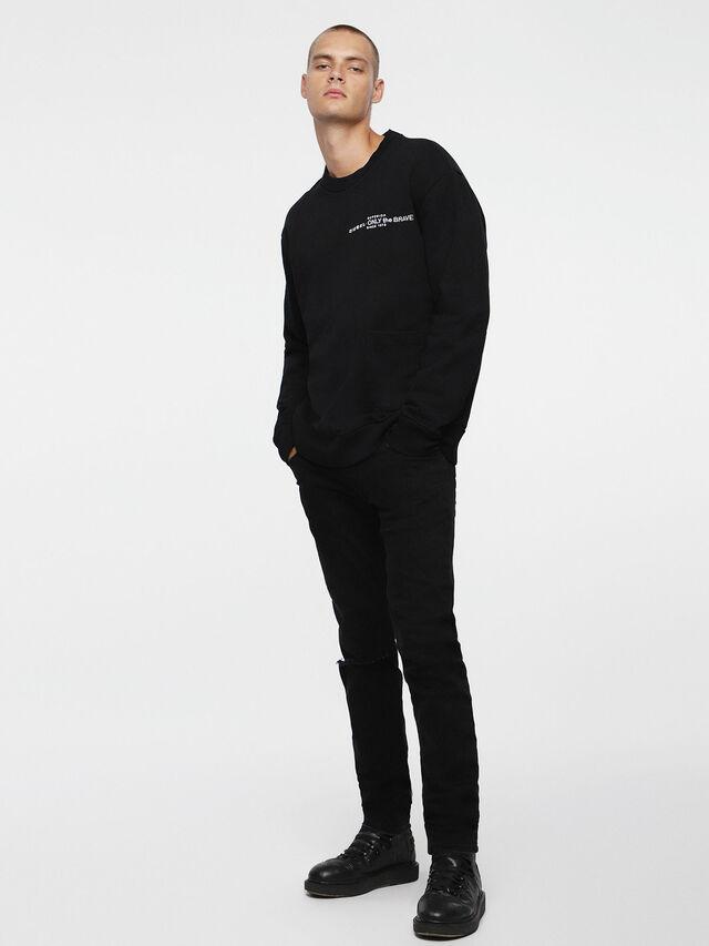 Diesel S-ELLIS-CL, Black - Sweaters - Image 4