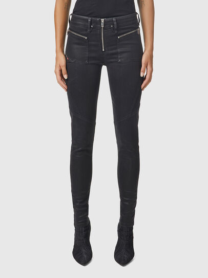 Diesel - Slandy 069JT, Black/Dark grey - Jeans - Image 1