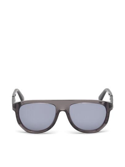Diesel - DL0255, Grey - Sunglasses - Image 1
