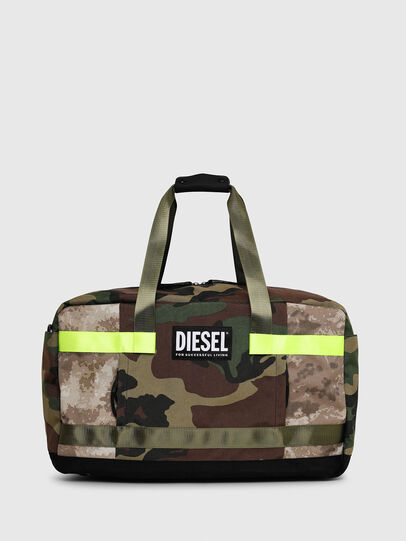 Diesel - SOLIGO, Green Camouflage - Travel Bags - Image 1